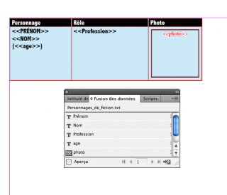 True Indesign Tables using data merge with a script